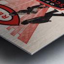 1934 Cincinnati Reds Score Book & Coke Ad Metal print