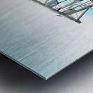 Lake Dredger at Passignano Sul Lago Metal print