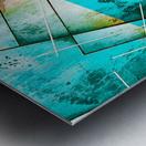 ABSTRACT ART BRITTO QB300B Metal print