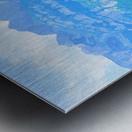 Snapshot in Time Walensee - Lake Walen Switzerland 1 of 3 Metal print