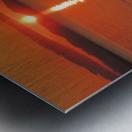Qualicum Beach Sunset Metal print