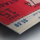 1932 Wisconsin Badgers vs. Chicago Maroons Metal print