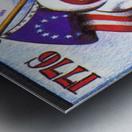 1976 Arkansas Razorbacks Ticket Stub Art Metal print