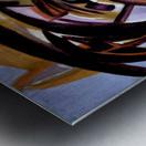 The Architectonic Autobiography Metal print