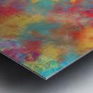 Abstract Elephant Metal print