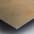 The enlightened sealing corner Metal print
