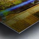 Bricks and Wheels Reflected_141111_1513_0904 HXSYV Metal print