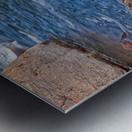 Rocky River Edge Metal print
