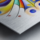Arubissina V2 - fish eye Metal print
