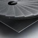 stepscircle Metal print