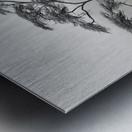 a very long story Metal print