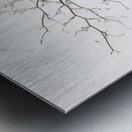 Vase And Branch Metal print