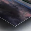 Carbis Bay moonlight Metal print