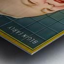 Gillette Safety Razor Metal print