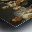David George van Lennep and Family Metal print