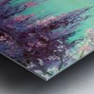 Глициния у моря Metal print