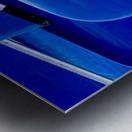 Blue Canoes Metal print