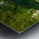 Waterfall Paradise Plitvice Lakes in Croatia Metal print