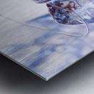 Glass of whiskey Metal print