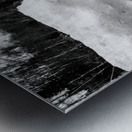 Spring Lakeshore Metal print