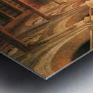 Interieur de la mosquee du Mourestan Metal print