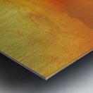 The golden hour Metal print