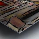 Hafanissia V1 - lady umbrella Metal print