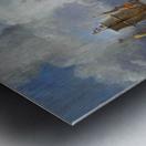Sailing to Gibraltar Metal print