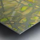 Leaves Macro 5 Abstract 1 Metal print