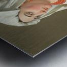 Una Ciociara Metal print