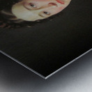 Portrait of Emilie Henriette Massmann Metal print