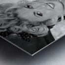 ©Lou Freeman Dark Glamour & Beauty Black & White    77 Metal print