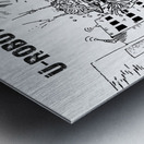 struggle Metal print