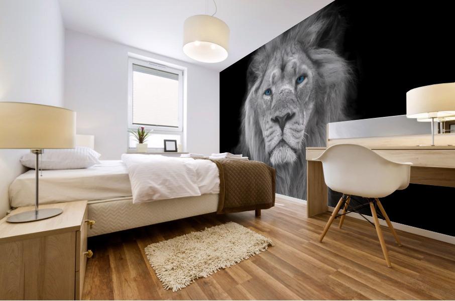 Details about  /Image on canvas-lion paintings animal illustration 30 forms fr 3067 show original title