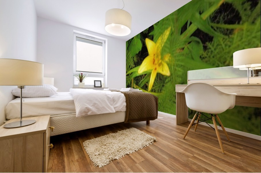 Yellow Flower Mural print