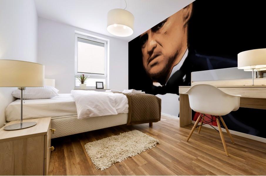 Marlon Brando - The Godfather Mural print