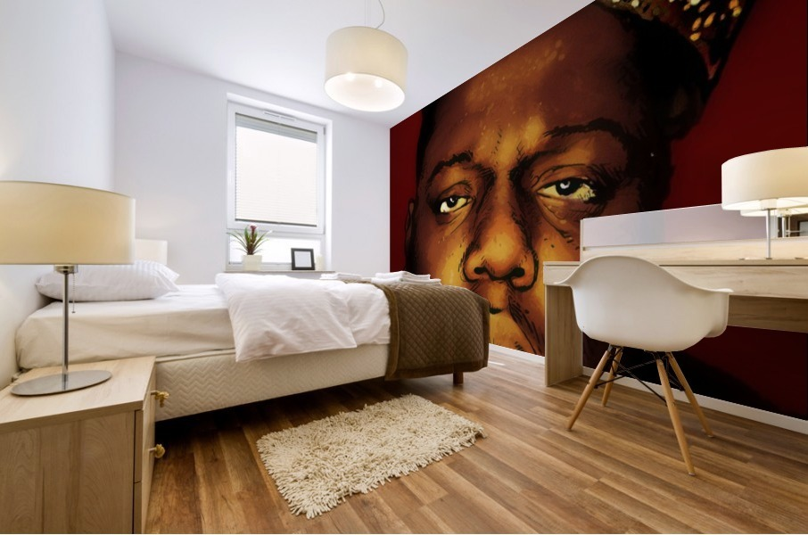 Biggie Smalls aka Notorious B.I.G Mural print