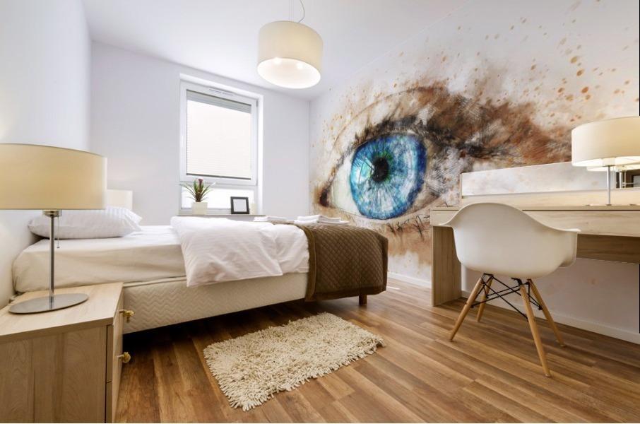 eye Mural print