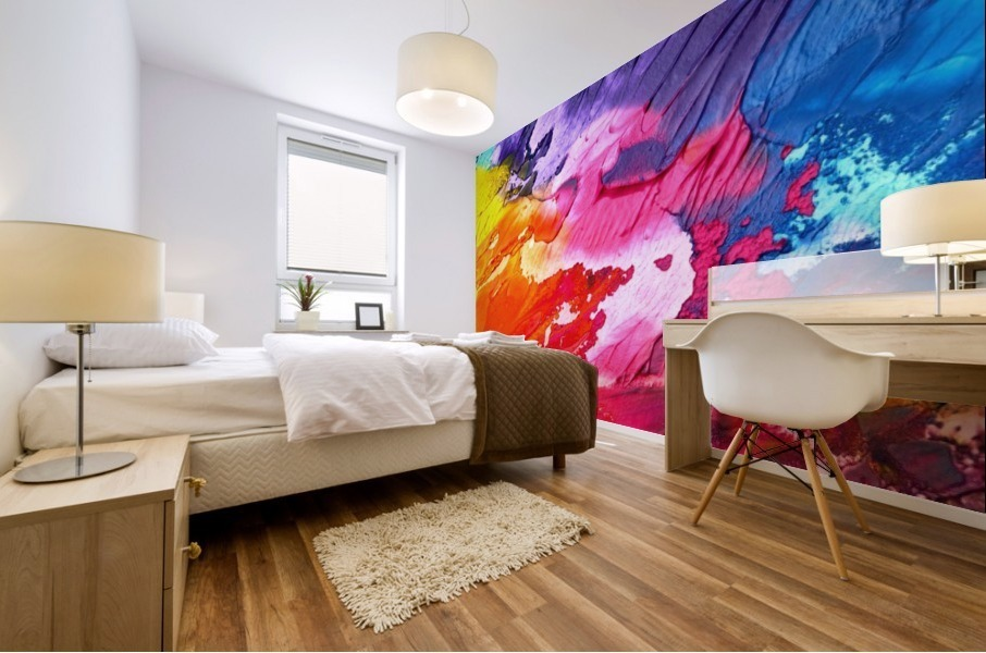 abstra Mural print