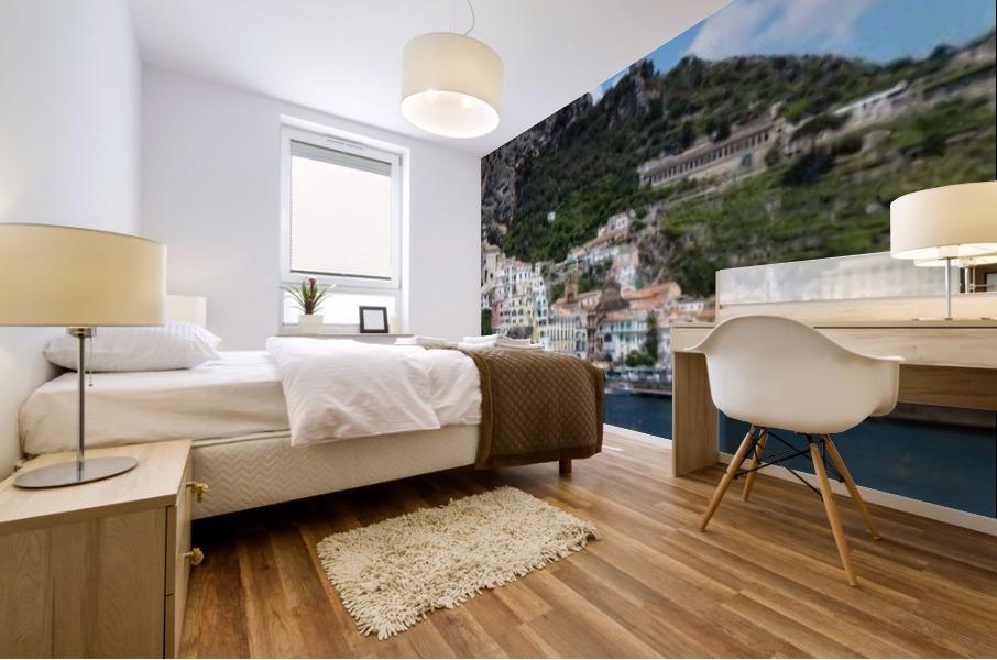 Super panoramic Amalfi City - Italy Mural print