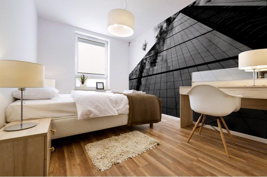 London Skyscraper II - Black and White Mural print