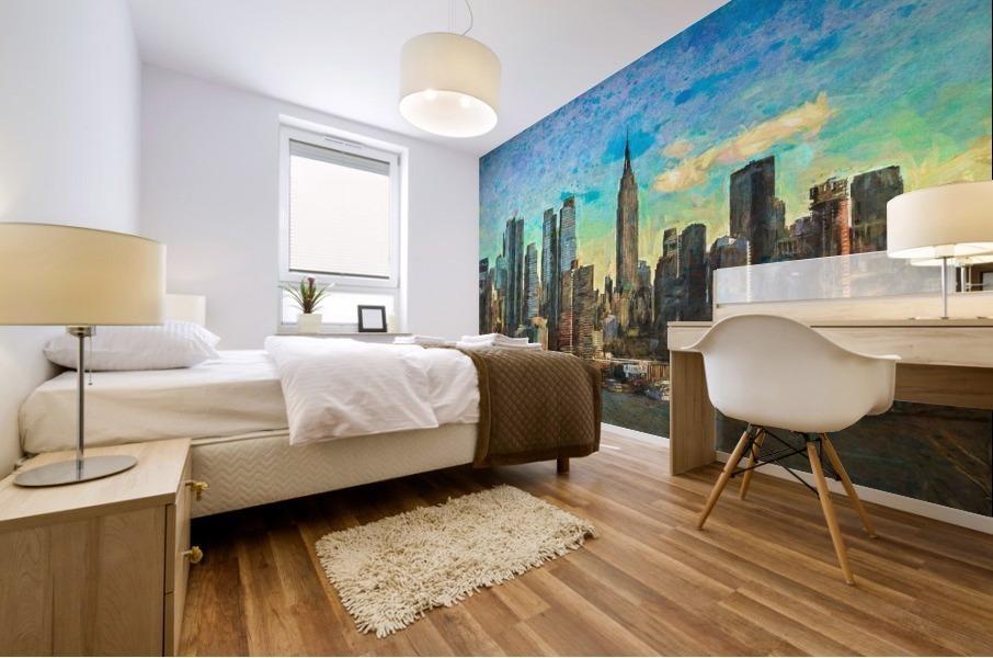 New York Skyline Mural print