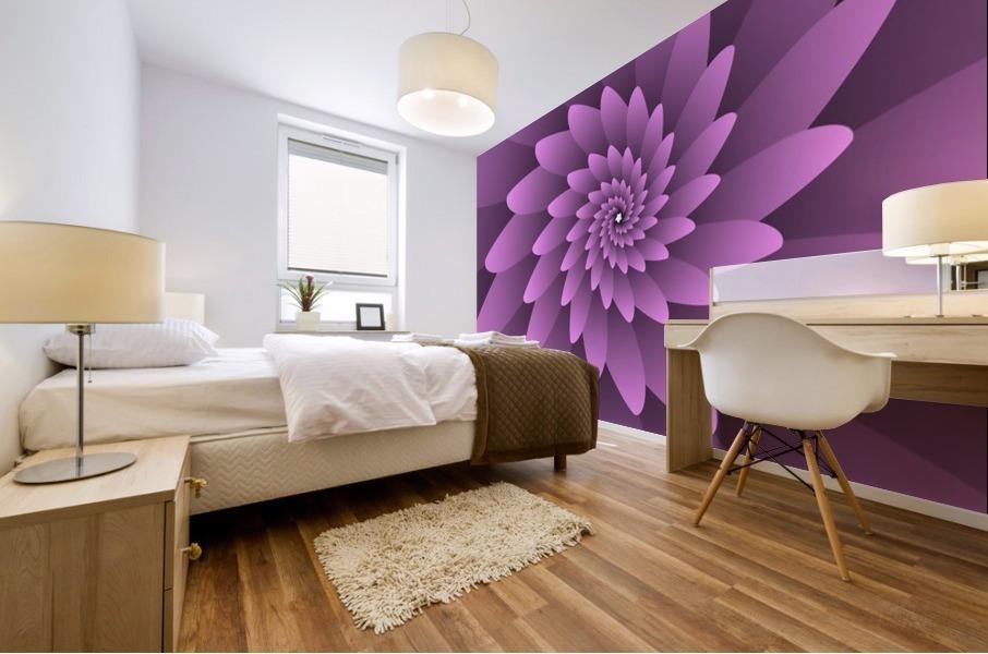 3D Floral Modern Artwork Mural print