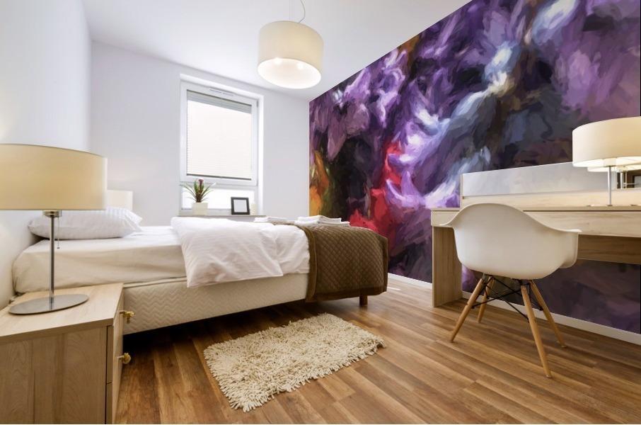 Living Color Mural print