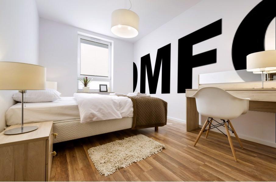 OMFG Mural print