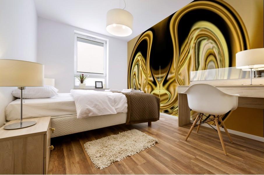GoldTone1 Impression murale