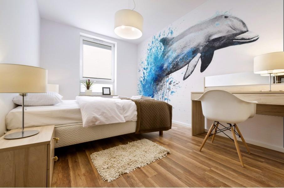 dauphin Mural print