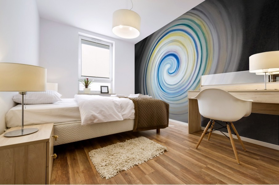 circling Impression murale