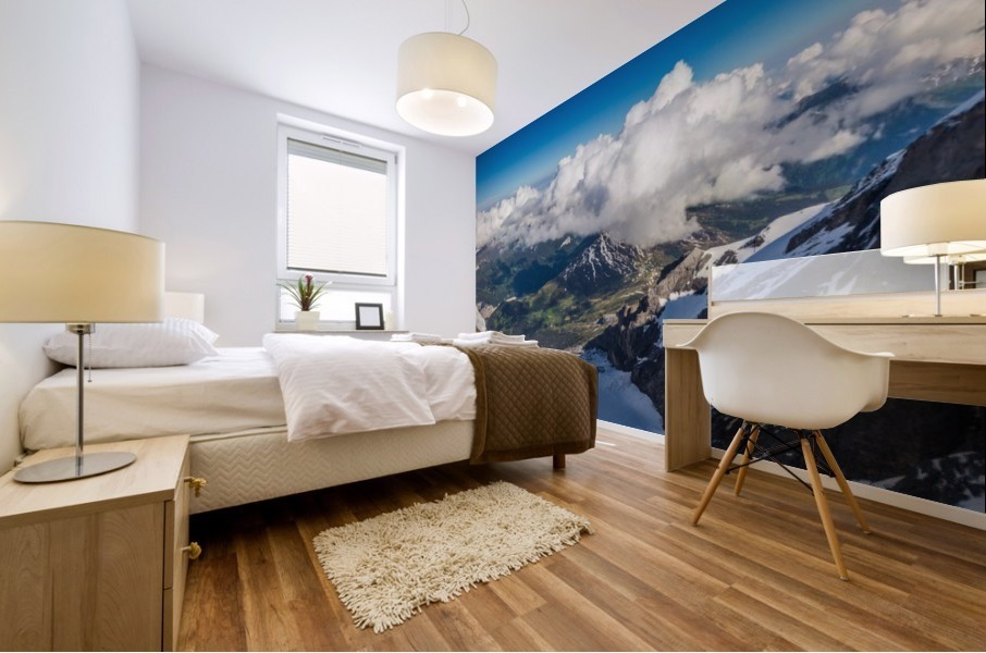 Above the Clouds Mural print
