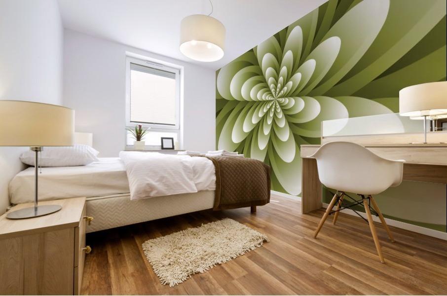 Greeny Feel Mural print